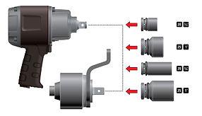 ОБРАБОТКА НА СТАНКЕ ИЛИ ВРУЧНУЮ... ... для электрических, гидравлических, пневматических  илидинамометрических ручных инструментов