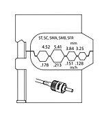 8140-12 МОДУЛЬ СМЕННЫЙ для оптических волноводов