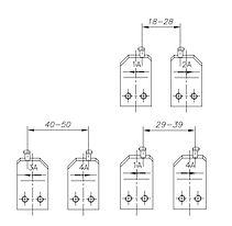E-8005 A ГУБКИ ЗАПАСНЫЕ для внешних стопорных колец (1шт.)