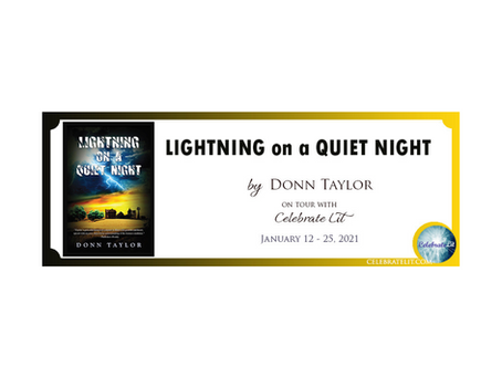 Lightning on a Quiet Night by Donn Taylor