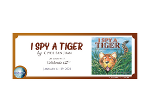 I Spy a Tiger by Clyde San Juan