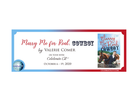 Marry Me for Real, Cowboy by Valerie Comer