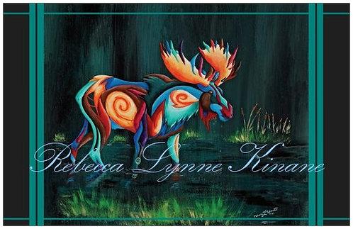 Greeting Card- Horns & Antlers Series: Big Game Animals
