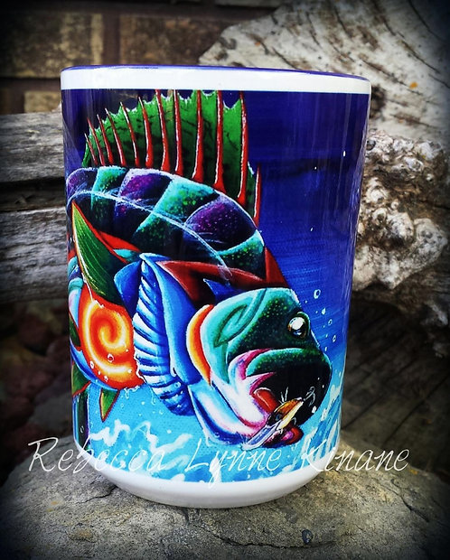 15 oz. Coffee Mug- Field & Stream Series: Fish, Small Wildlife