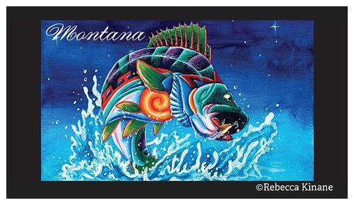 2x3 Magnet- Field & Stream Series: Fish, Small Wildlife