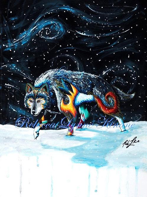 "11""x14"" Fine Art Print- Call of the Wild Series: Predators"