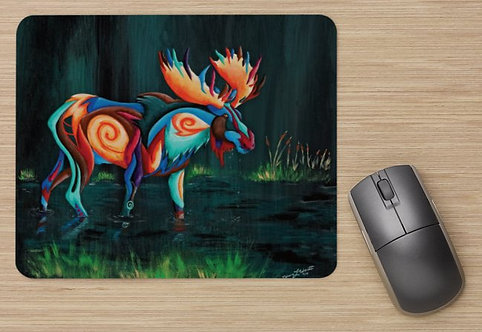 Mousepad- Horns & Antlers Series: Big Game Animals
