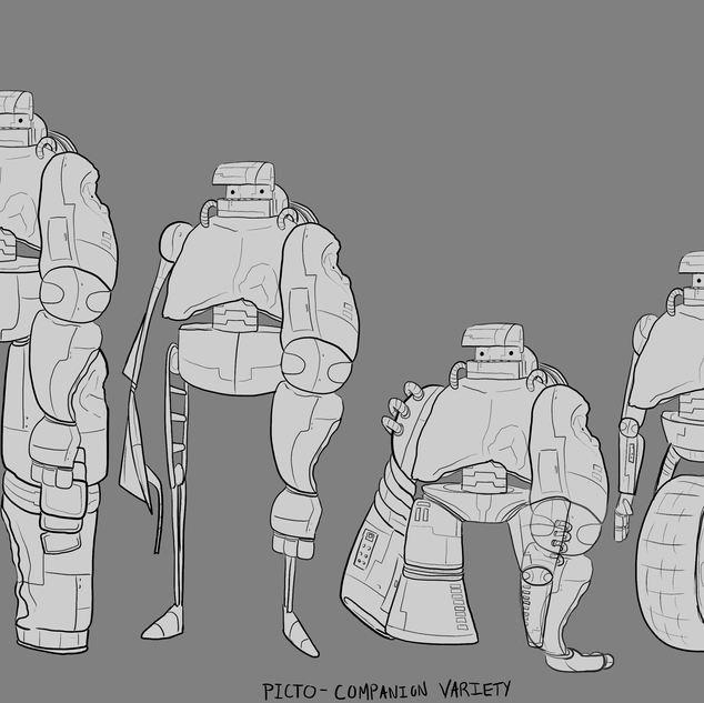 Character Design - Picto