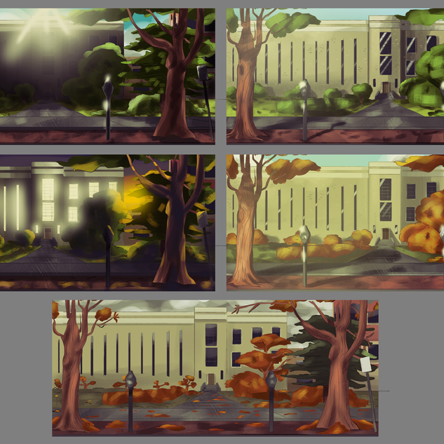 Background Transition - Campus