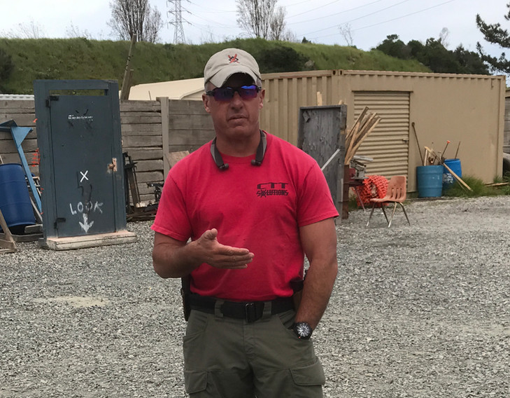 Mike Pannone - Guest Instructor Low Light Gunfighting