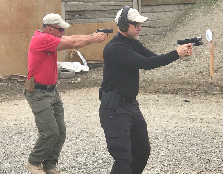 Mike Pannone at Low-Light Gunfighting