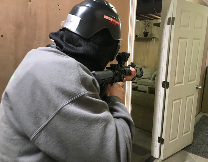 Low Light Gunfighting - Shoot House Module