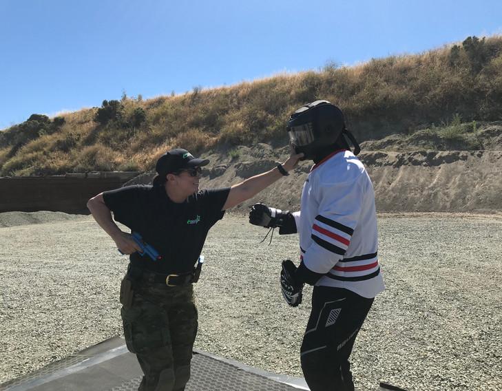 Low Light Gunfighting Combatives