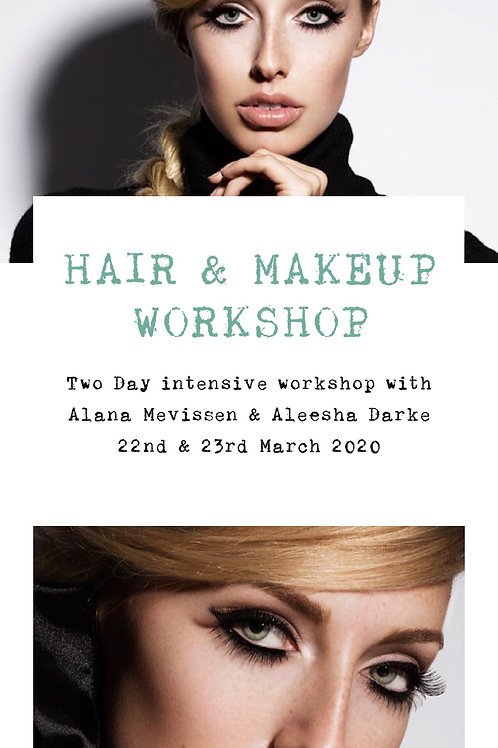 Intensive 2 Day Workshop with Aleesha Darke & Alana Mevissen