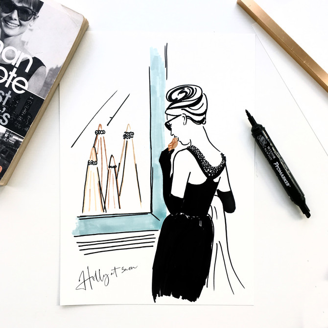 World Book Day - Breakfast at Tiffany's
