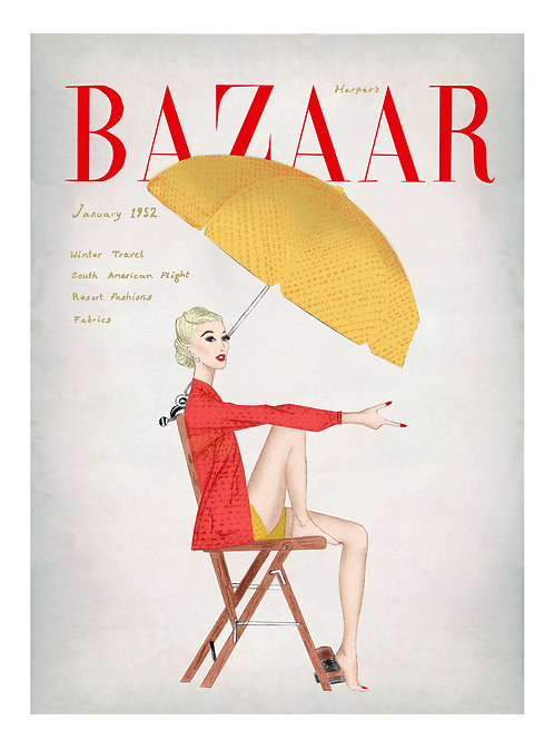 Harpers Bazaar 1952 January Edition