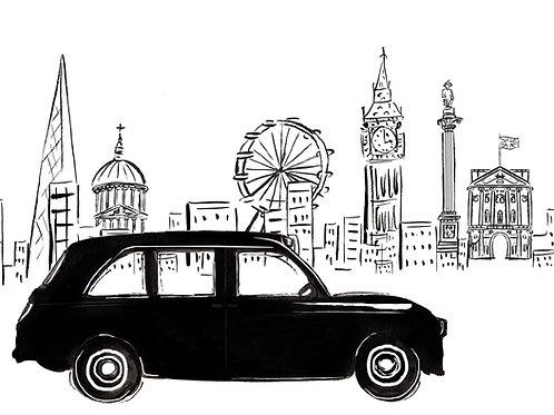 Driving Through London