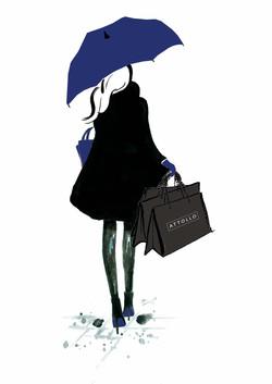 Attollo shopper all blue