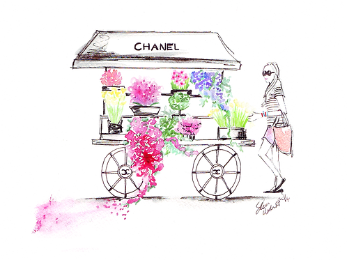 Chanel in Bloom