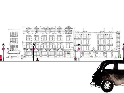 London Street Scene - Chiltern Street W1