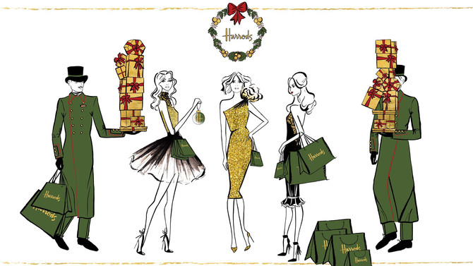 A Christmas Project with Harrods