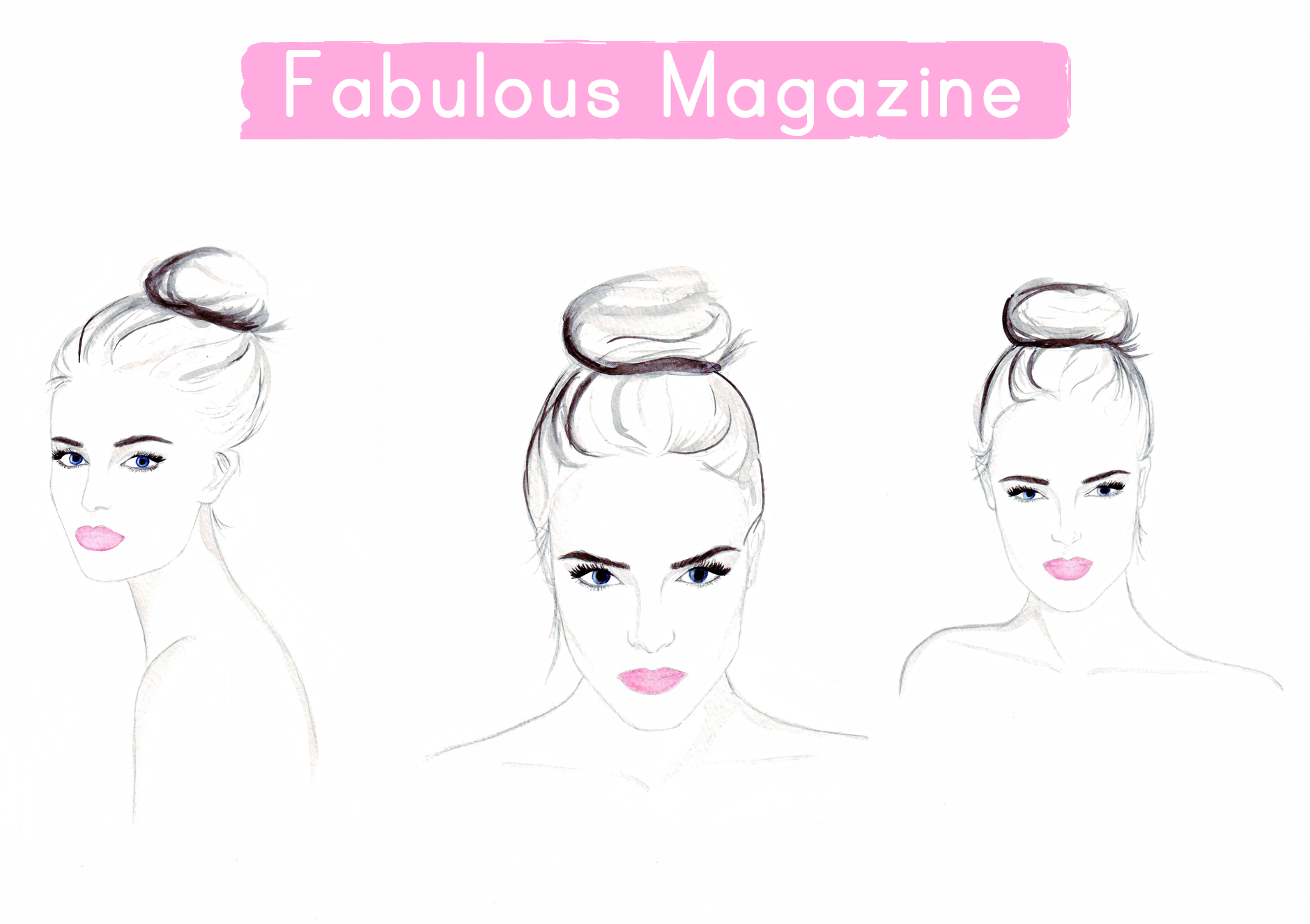 Beauty illustrations for Fabulous