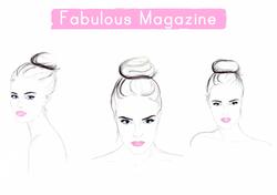Beauty illustrations for Fabulous