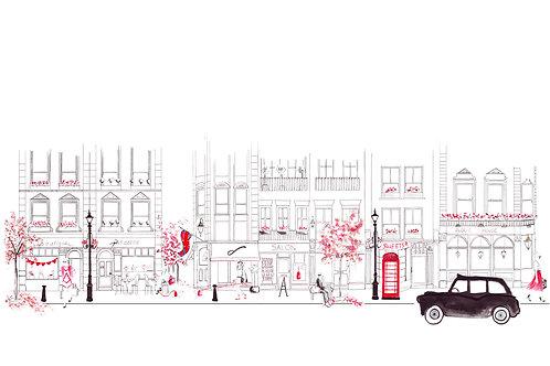 London Street Scene - Seven Dials WC2