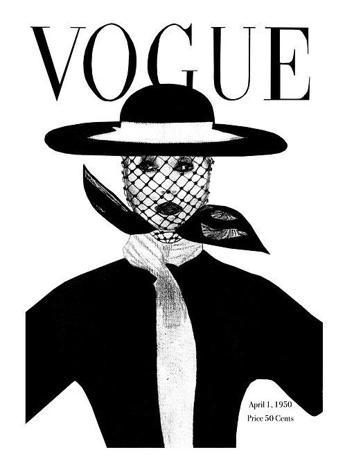 Vogue 1950 April Edition