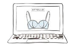 Laptop With Bra