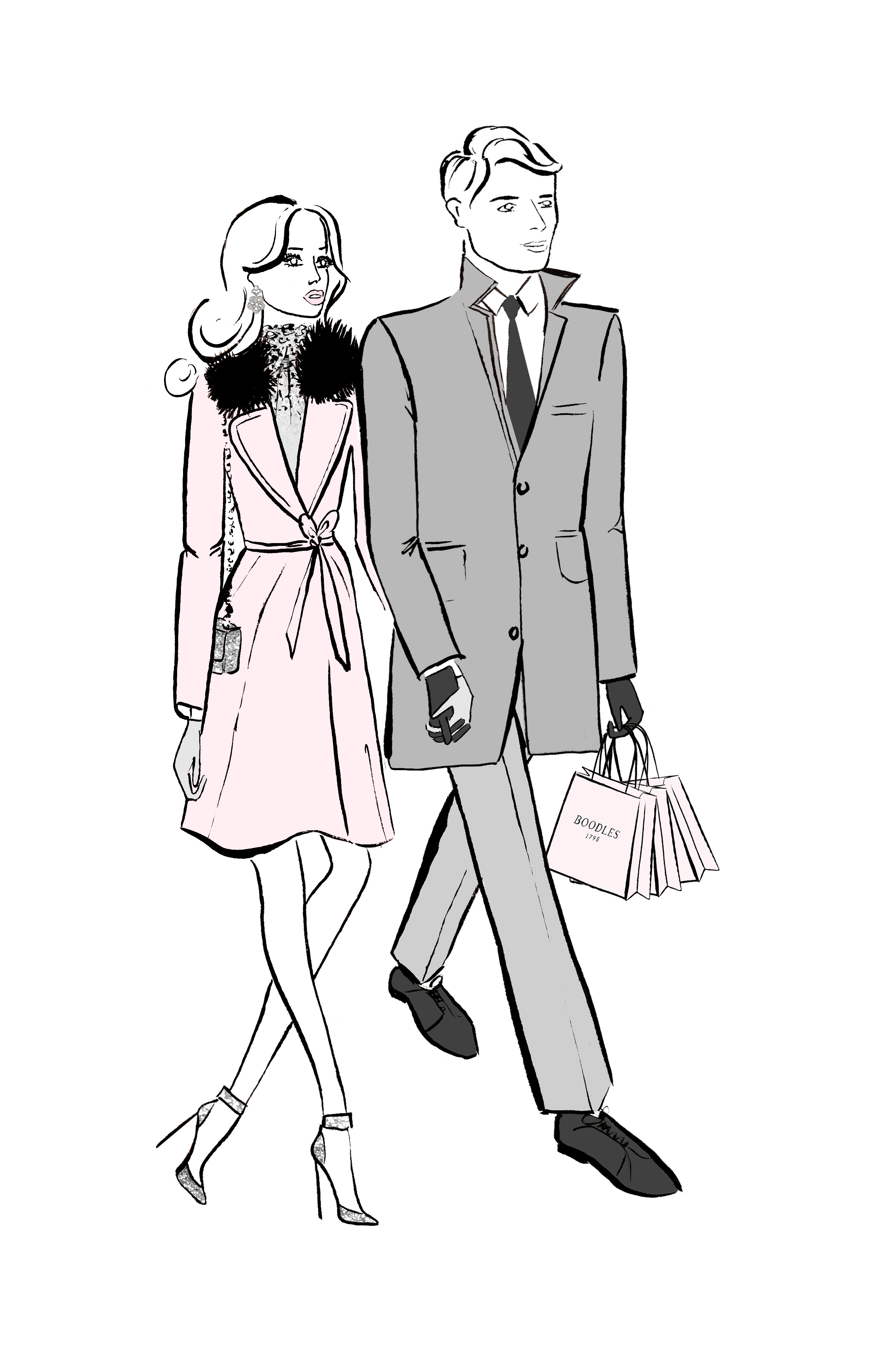 Couple Walking In