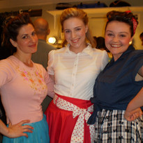 backstage with the ladies of Seamen! The Musical!