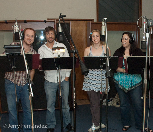 Doing a cast recording