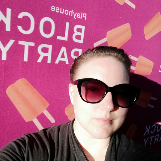 Ready to work at Pasadena Playhouse for their Block Party