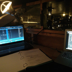 View inside the booth for Ordinary Objects presented as part of the Company Creation Festival at SON OF SEMELE