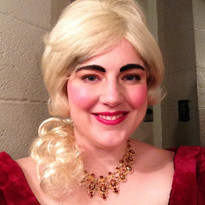 Just an evil step sister backstage of Into The Woods