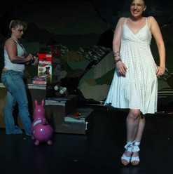 ADVENTURES IN WHITE TRASH BABYSITTING written by Rebecca Egender directed by Tammy Minoff