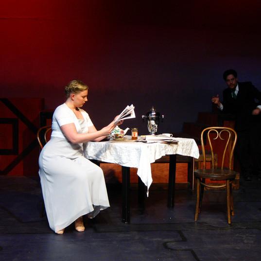 JANE & ANTON written & directed by Lemon Baardsen  where I got to play Jane Austen!