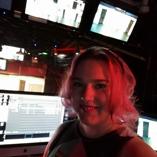 In the booth for CabarGay10 at ACME Comedy Hollywood