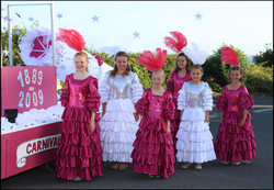 Carnival Queens and Princesses 2009
