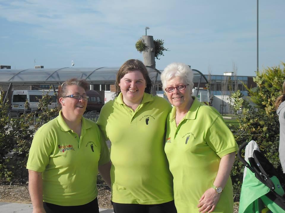 Jane, Shania and Janice