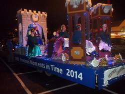 Newport Christmas Carnival- Ventnor float