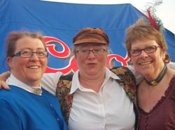 Sandown Carnival- Jane, Teresa and Janice