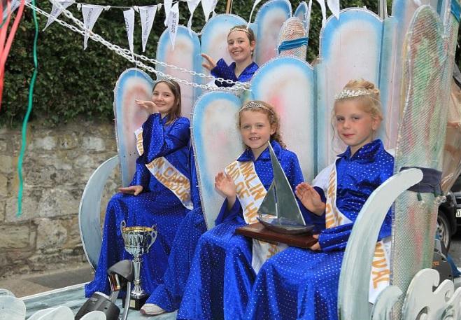 Shanklin Carnival Queens