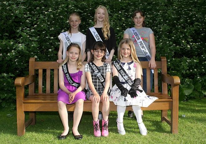 Ventnor Carnival Queens and Princesses 2015