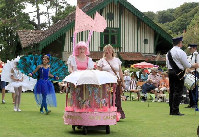 Pink Carousel