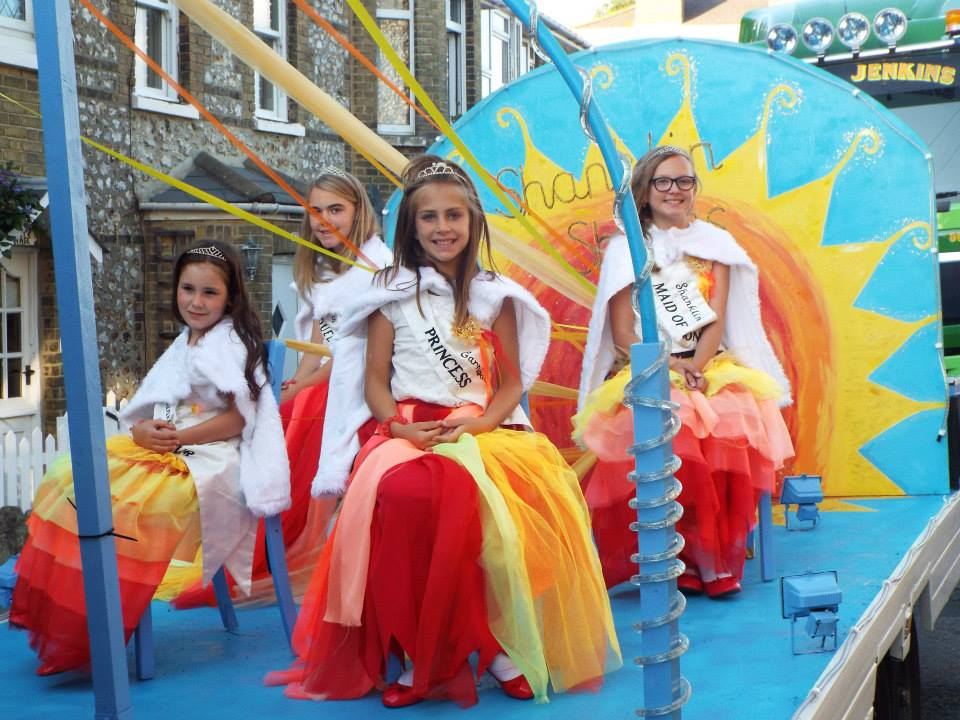 Shanklin Carnival Queens