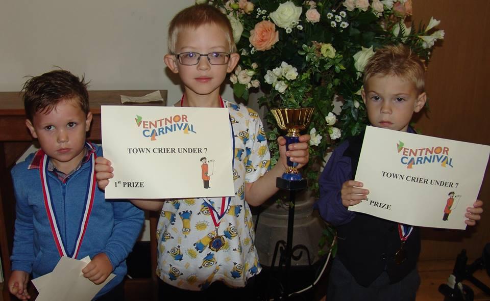 Junior Town Crier Winners