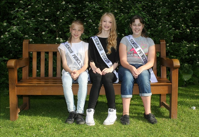 Senior Queen and Princesses 2015