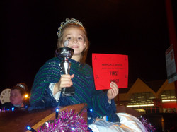 Newport Christmas Carnival- 1st place